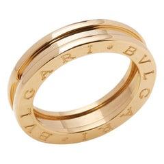Bulgari 18 Karat Yellow Gold B.Zero 1 Band Ring