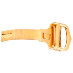 Cartier 18 Karat Yellow Gold-Plated Deployant Clasp/Buckle