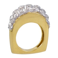 1973 Kutchinsky Diamond and Gold Ring