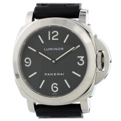 Panerai Luminor PAM00112 with Band and Black Dial Certified Pre-Owned
