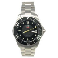 TAG Heuer Aquaracer WAB1110 with Band and Black Dial Certified Pre-Owned