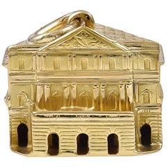 Gold La Scala Opera Charm
