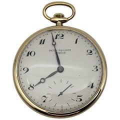 Patek Philippe Yellow Gold 18 Karat Pocket Watch, Reference 652/1
