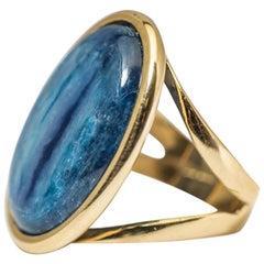 Ring Yellow Gold 18 Carat Kianite