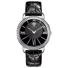 Authentic New Versace Krios Stainless Steel Quartz Watch