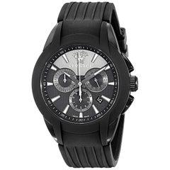 New Unisex Versace Character Ceramic Steel Quartz Watch