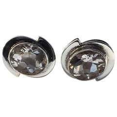 Rock Crystal Cufflinks