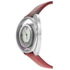 New Versace Destiny Spirit 86Q951MD497 S111 Floating Crystals Diamond Watch