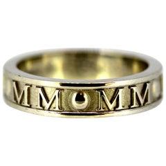 """Theo Fennel, 18 Karat White Gold """"Millennium"""" Ring"""