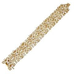 1970s Van Cleef & Arpels Diamond Bracelet