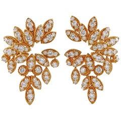 1970s Van Cleef & Arpels Diamond Earrings