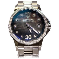 Corum Admiral's Cup Legends Stainless Steel with Diamonds