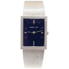 Audemars Piguet Classic 18 Karat White Gold Diamonds Men's Watch