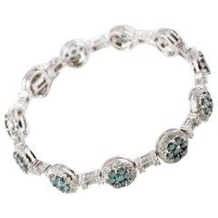 Adamor 8.45 Carat Diamond Bracelet