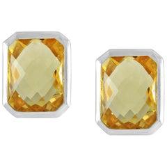 Code by Edge Aquafiore Earrings Coloured Rose Cut Gemstones Morse Code Letter T