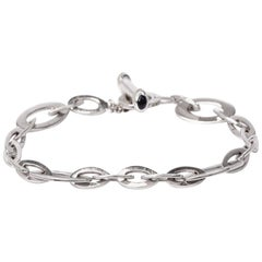 Roberto Coin Diamond Appassionata Gold Chain Link Bracelet
