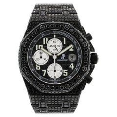 Audemars Piguet Royal Oak Offshore Black Diamond Watch