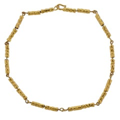 Jean Mahie Gold Necklace