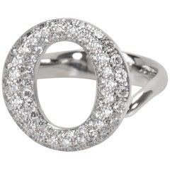 e1edb9a1f Tiffany & Co. Elsa Peretti Sevillana Diamond Ring in Platinum 0.80 Carat