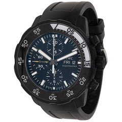 IWC Aquatimer Galapagos IW3767-05 Men's Watch in Stainless Steel Clad Rubber