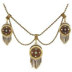 Opal Pendant Necklaces