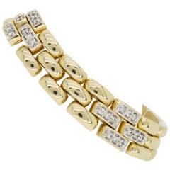 Retro Diamond Link Bracelet