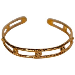 "Gold Plated Bronze ""Berry"" Bracelet by Franck Evennou, France, 2018"