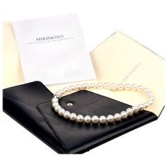 Mikimoto White South Sea Cultured Pearl Strand Necklace