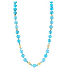 Natural Sleeping Beauty Turquoise Beads