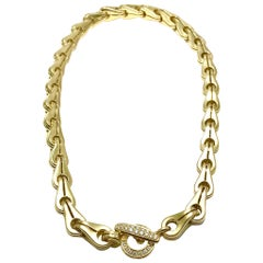 Di Modolo Tempia 0.52 Carat Diamond and 18 Karat Yellow Gold Collar Necklace