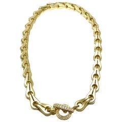 Di Modolo Tempia 0.52 Carat Diamond and 18 Karat Yellow Gold Collar Necklace