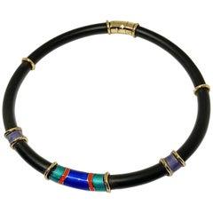 Art Nouveau Choker Necklaces