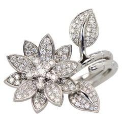 Van Cleef & Arpels Diamant Lotus Ring
