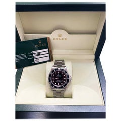 Rolex Submariner 14060 Black Stainless Steel Box and Papers Mint Condition 2009