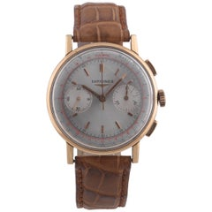 Longines Cal. 30CH Yellow Gold Ref. 7414, Made in the 1950s