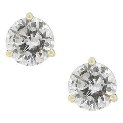 Round Brilliant GIA Diamond Studs