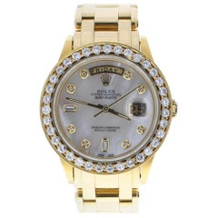 Rolex Day-Date 18038 with 7.5 Inches Band and Mother of Pearl Dial