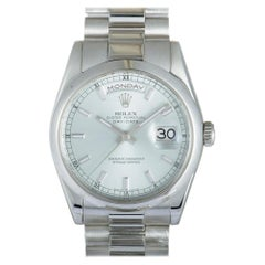Oyster Perpetual Day-Date Watch 118206 Sip, Certified Authentic
