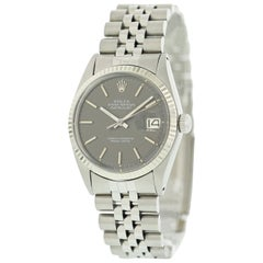 Rolex Datejust 1601 with Band and Grey Dial
