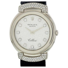 Rolex Cellini 6682 with Band and White Dial