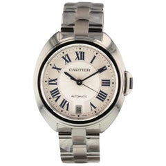 Cartier Cle de Cartier Stainless Steel Automatic Watch WSCL0006