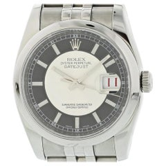Rolex Datejust 116200 with Band and Missing Dial