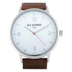 Ben Sherman Men's Quartz Watches WB062WUR, Certified Authentic