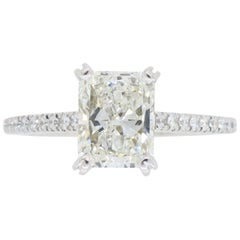 AGS Certified Diamond Sylvie Engagement Ring