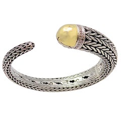 JOHN HARDY Diamond Banded, Classic Chain and Kick Cuff Bracelet