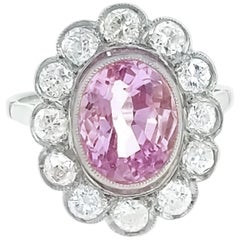 Belle Epoque Pink Sapphire and Gold Ring