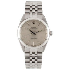 Rolex Oyster Perpetual 1002 Men's Stainless Steel Automatic Watch Jubilee Band