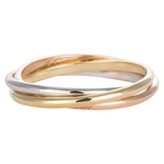 Cartier Trinity De Cartier Extra Small Ring 18 Karat White Rose and Yellow Gold