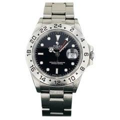 Rolex Vintage Explorer II Stainless Steel Men's Watch with Box 16550