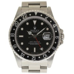 Rolex GMT Master 16700 Stainless Steel Black 1991 Automatic 2 Year Warranty